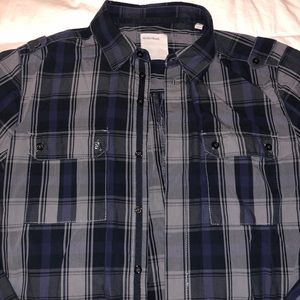Mens Button Down Shirt Size Large like new
